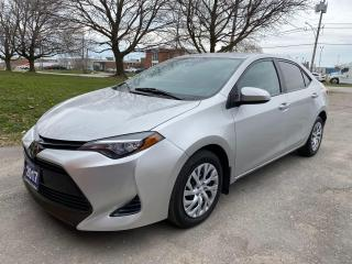 Used 2017 Toyota Corolla LE ReverseCamera/Bluetooth/HeatedSeats for sale in Brampton, ON