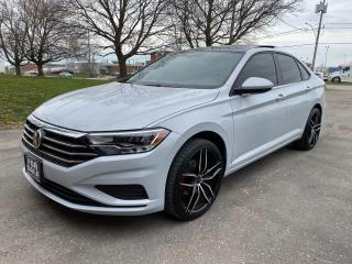 Used 2019 Volkswagen Jetta Highline Leather/ReverseCamera/Sunroof/Bluetooth for sale in Brampton, ON