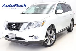 Used 2015 Nissan Pathfinder Platinum *2-DVD *GPS *Camera-360- *7-Pass *Full! for sale in Saint-Hubert, QC
