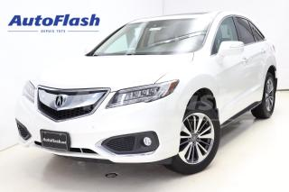 Used 2016 Acura RDX ELITE *Blind-Spot *Lane-Assist *Adapt-Cruise *Full for sale in Saint-Hubert, QC