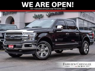 Used 2019 Ford F-150 King Ranch l PANO ROOF l NAV l HEATED/VENTED LEATH for sale in Burlington, ON