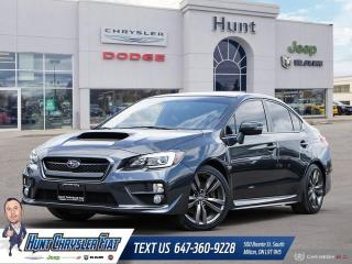 Used 2016 Subaru WRX SPORT TECH PKG | MANUAL | ALL WHEEL DRIVE!!! for sale in Milton, ON