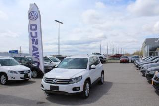 Used 2012 Volkswagen Tiguan 2.0L Highline 4Motion for sale in Whitby, ON