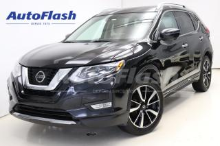 Used 2017 Nissan Rogue SL *Platinum *Cuir-brun *Blind-Spot *Adapt-Cruise for sale in Saint-Hubert, QC