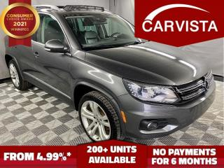 Used 2012 Volkswagen Tiguan HIGHLINE 4MOTION - LEATHER HEATED SEATS/PANO ROOF- for sale in Winnipeg, MB