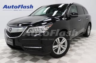 Used 2015 Acura MDX ELITE *Driver-Assist *DVD *GPS/Camera for sale in Saint-Hubert, QC