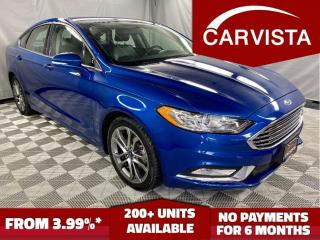 Used 2017 Ford Fusion SE - LOCAL VEHICLE/ALL WHEEL DRIVE - for sale in Winnipeg, MB