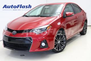 Used 2015 Toyota Corolla S* Cuir/Leather *Camera *Toit-Ouvrant/Sunroof*Mags for sale in Saint-Hubert, QC