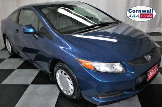Used 2012 Honda Civic COUPE One Owner, Clean CarFax, Manual for sale in Cornwall, ON
