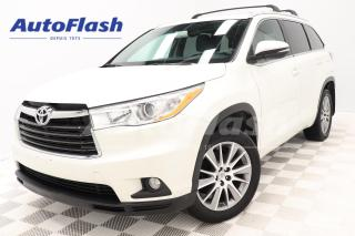 Used 2015 Toyota Highlander XLE *7-Pass *Cuir/Leather *GPS/Camera *Toit/Roof for sale in Saint-Hubert, QC