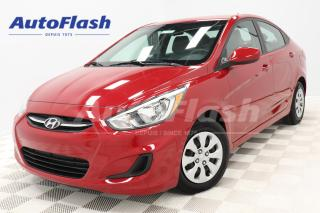 Used 2017 Hyundai Accent GL *BLUETOOTH *A/C *CRUISE *SIEGES-CHAUFFANTS for sale in Saint-Hubert, QC