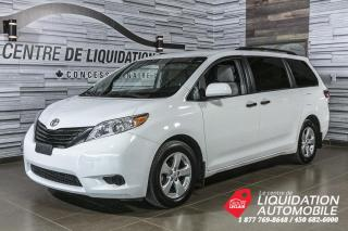 Used 2017 Toyota Sienna MAGS+A/C+CAM/REC+BLUETOOTH for sale in Laval, QC