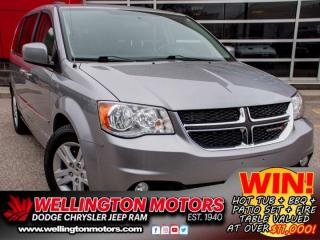 Used 2017 Dodge Grand Caravan Crew   Clean CarFax   New Front/Rear Rotors !! for sale in Guelph, ON