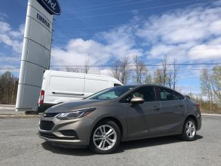 Used 2018 Chevrolet Cruze LT for sale in Embrun, ON