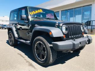 Used 2011 Jeep Wrangler 4WD 2dr Sport,manuelle,2 toit for sale in Lévis, QC