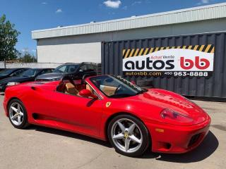 Used 2001 Ferrari 360 for sale in Laval, QC