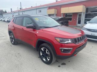 Used 2018 Jeep Compass Trailhawk très propre, 8 pneu, for sale in Val-D'or, QC
