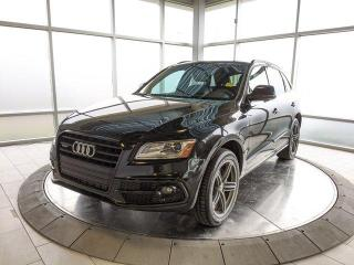Used 2016 Audi Q5 Technik - Two Sets of Tires! Accident Free Carfax! for sale in Edmonton, AB