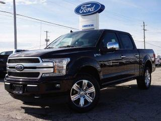 New 2019 Ford F-150 PLATINUM | 700A | DEMONSTRATOR | TWIN ROOF | LOADED for sale in Listowel, ON