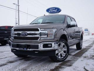 New 2020 Ford F-150 KING RANCH | 601A | TWIN ROOF | PWR BOARDS | ADAPTIVE CRUISE | CHROME PACKAGE for sale in Listowel, ON