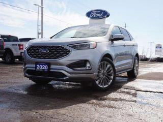 New 2020 Ford Edge TITANIUM | 301A | ELITE PACKAGE | TRAILERING | LOADED for sale in Listowel, ON