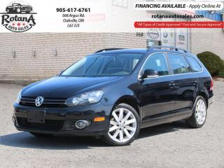 Used 2014 Volkswagen Golf Wagon TDI Man Highline w/Navi_Panormic Sunroof_Leather for sale in Oakville, ON