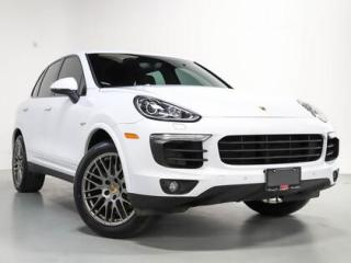 Used 2017 Porsche Cayenne S E HYBRID I PLATINUM EDITION I NAVI I PANO for sale in Vaughan, ON