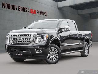 Used 2017 Nissan Titan XD 4WD Crew Cab Platinum Reserve Gas*Fully Loaded* for sale in Mississauga, ON