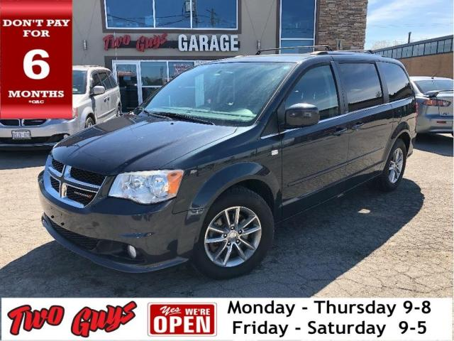 2014 Dodge Grand Caravan 30th Anniversary Edition | Leather | UConnect | Bl