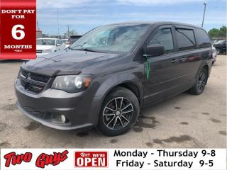 Used 2017 Dodge Grand Caravan SXT   DVD    Bluetooth   UConnect   Alloys for sale in St Catharines, ON