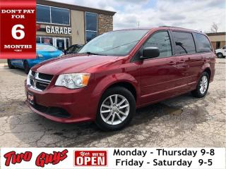 Used 2014 Dodge Grand Caravan SXT | DVD | UConnect | Alloys | Bluetooth | for sale in St Catharines, ON