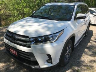 Used 2017 Toyota Highlander XLE AWD for sale in Mississauga, ON