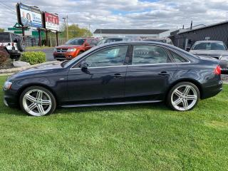Used 2016 Audi A4 2.0T Tecknik Plus quattro Sedan AWD 6M S-Line for sale in Windsor, ON