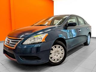 Used 2015 Nissan Sentra CLIMATISEUR AUTOMATIQUE *BLUETOOTH* for sale in St-Jérôme, QC