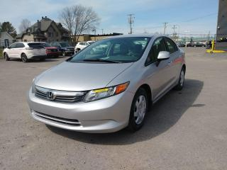 Used 2012 Honda Civic LX AUTOMATIQUE CLIMATISEUR *BLUETOOTH* for sale in St-Jérôme, QC