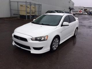 Used 2009 Mitsubishi Lancer Berline 4 portes, boîte manuelle, GT for sale in Quebec, QC