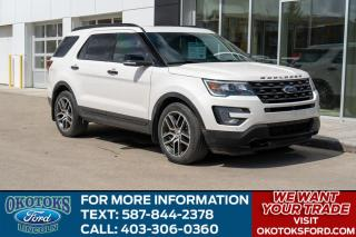 Used 2017 Ford Explorer Sport 3.5 ECO/ROOF/LEATHER/HEAT-COOLED SEATS/HTD WHEEL/ 3RD ROW for sale in Okotoks, AB