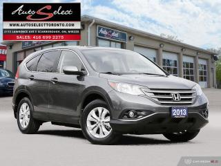 Used 2013 Honda CR-V EX ONLY 91K! **SUNROOF**BACK-UP CAMERA**CLN CARPROOF* for sale in Scarborough, ON