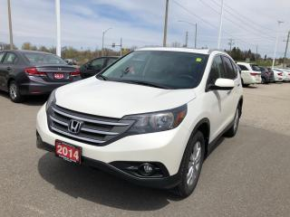 Used 2014 Honda CR-V Touring LEATHER INTERIOR | REARVIEW CAMERA WITH GUIDELINES | HEATED SEATS for sale in Cambridge, ON
