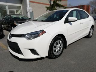 Used 2015 Toyota Corolla VITRES ÉLECTRIQUE BLUTOOTH for sale in Longueuil, QC