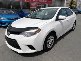 Used 2014 Toyota Corolla LE ** DÉFLECTEUR CAPOT ** SIÈGES CHAUFFANTS ** for sale in Longueuil, QC