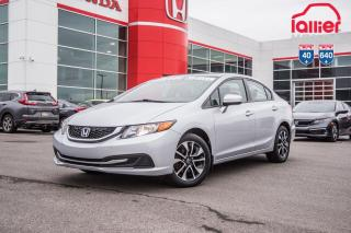 Used 2015 Honda Civic EX 02520A ARGENT for sale in Terrebonne, QC