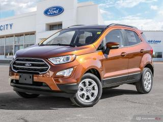 New 2020 Ford EcoSport SE for sale in Winnipeg, MB