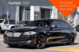 Used 2013 BMW 5 Series 550i xDrive Massage Seats.HeadsUp Disp.Nav.Sunroof.Dual Climate for sale in Thornhill, ON