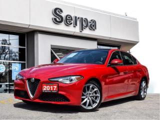 Used 2017 Alfa Romeo Giulia |NAV|PANOROOF|TURBO|AWD|REARCAM|17S|SATRADIO| for sale in Toronto, ON