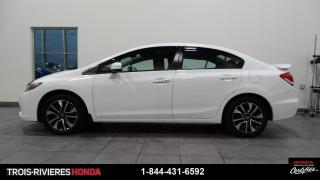 Used 2015 Honda Civic EX + MAGS + TOIT OUVRANT ! for sale in Trois-Rivières, QC