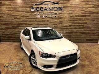 Used 2015 Mitsubishi Lancer MITSUBISHI LANCER SE MAN 2015 BLANC 7750 for sale in Ste-Brigitte-de-Laval, QC