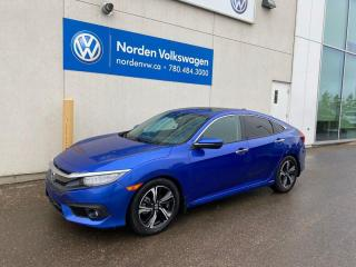 Used 2017 Honda Civic Sedan TOURING - FULLY LOADED / NAVI / LEATHER for sale in Edmonton, AB