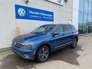 Used 2018 Volkswagen Tiguan HIGHLINE W/ DRIVER'S ASSISTANCE PKG - CERTIFIED for sale in Edmonton, AB
