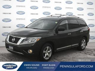 Used 2015 Nissan Pathfinder Platinum - Sunroof -  Navigation - $172 B/W for sale in Port Elgin, ON